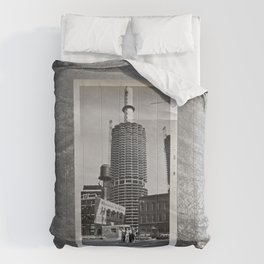 Americana - Chicago - Black & White - July 1962 Comforters