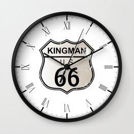 Kingman Route 66 Wall Clock
