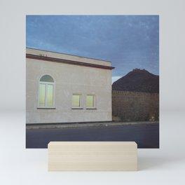 Dawn in Favignana Mini Art Print