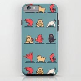 Cat Yoga iPhone Case