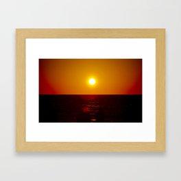 Captiva Sunset Framed Art Print