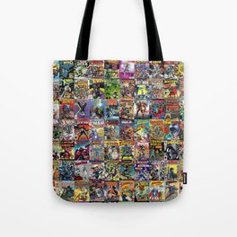 Comic Books Tote Bag