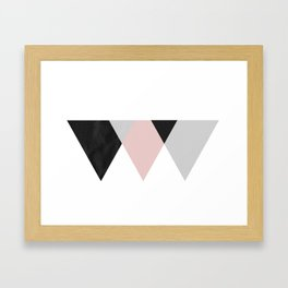 TTTRIANGLES Framed Art Print