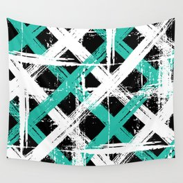 Grunge crosses Wall Tapestry
