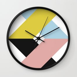 modern contemporary art Wall Clock