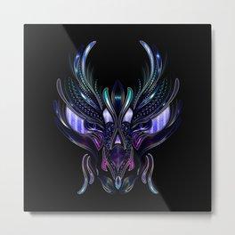 Dragon's Head Metal Print