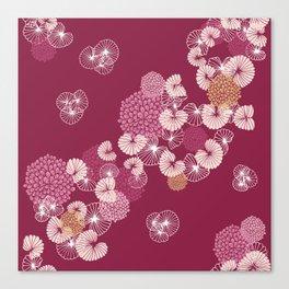 Floral Seamless Pattern Canvas Print