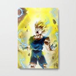 Vegeta Dragon Ball Super Metal Print