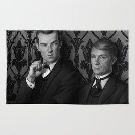 Holmes & Watson -- BBC meets Granada Rug