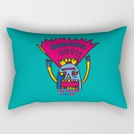 Burning Out Rectangular Pillow