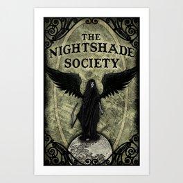 The Nightshade Society Art Print