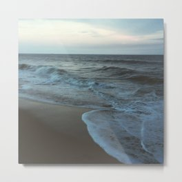 Night Time Beach  Metal Print
