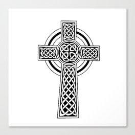 Celtic Knot Cross Tattoo Canvas Print
