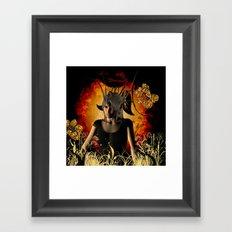 The fairy Framed Art Print