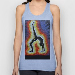 Yoga Backbend Unisex Tank Top