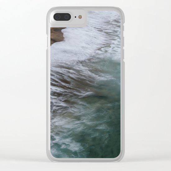 Coastal Wild Clear iPhone Case