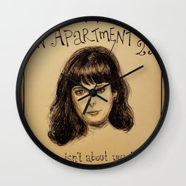 (Krysten Ritter - Don't trust the bitch in apartment 23) - yks by ofs珊 Wall Clock