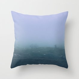 Exit Humanity Throw Pillow