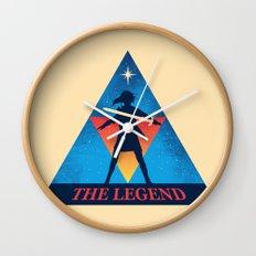 The Legend... Wall Clock