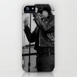 Julian Casablancas - The Strokes at Bonnaroo 2011 iPhone Case