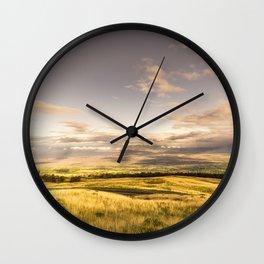 Volcano Landscape Maui Hawaii Wall Clock