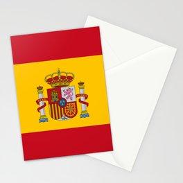 Spain Flag Spanish Patriotic Stationery Cards