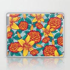 Flowers - Red Laptop & iPad Skin
