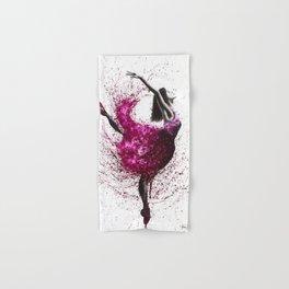 Ballet Wines Hand & Bath Towel