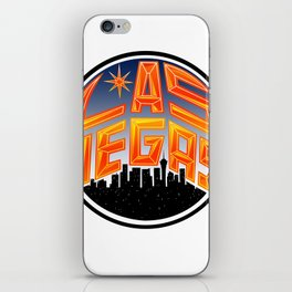 Las Vegas iPhone Skin