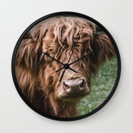 Cow Photography | Farm Animals | Nature Wall Clock