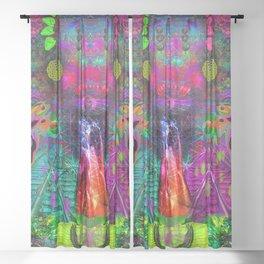 Rangda's Way Sheer Curtain