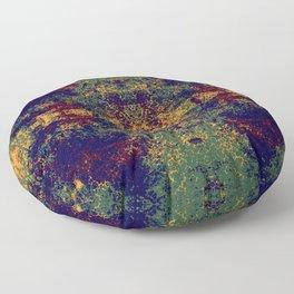 Colorful Abstract Decorative Boho Chic Style Mandala Art - Kodona Floor Pillow