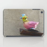 hip hop iPad Cases featuring hip-hop pigeon by Michelle Loidl