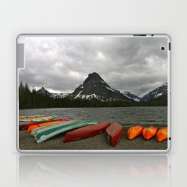 Two Medicine Lake With Sinopah Mountain Laptop & iPad Skin