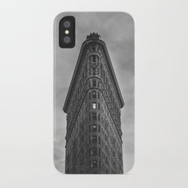 Flat Iron Building - New York iPhone Case