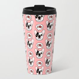 Time to treat the cute Frenchie Travel Mug