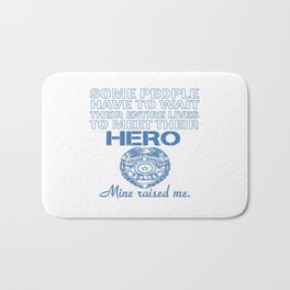 POLICE OFFICER'S DAUGHTER Bath Mat
