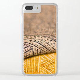 Magic Carpet Beautiful Embroidered East Asian Pattern Tapestry Clear iPhone Case