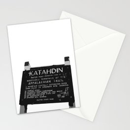 To Katahdin Stationery Cards