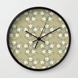 "series ""rostidade em mandala"" - the boy Wall Clock"