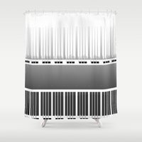 bar Shower Curtains featuring Piano bar by dominiquelandau