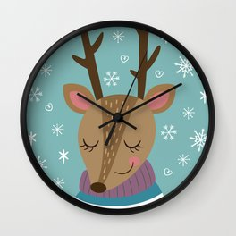 Merry xmass Wall Clock