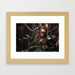 Lexa 02 Framed Art Print