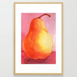 Junk Drawer Collection :: Pear Framed Art Print