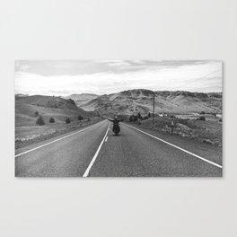 Wide Open | B&W 35mm Print Canvas Print