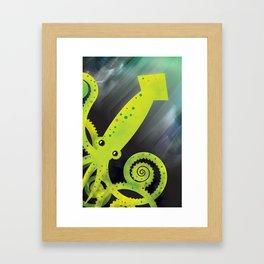 Squid Framed Art Print