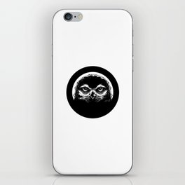meh.ro logo iPhone Skin