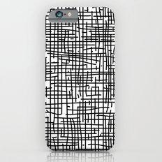 Crosshatch iPhone 6s Slim Case