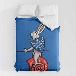 Snail Rider Bunny 2019 Comforters