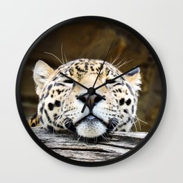Jaguar Relaxation Wall Clock